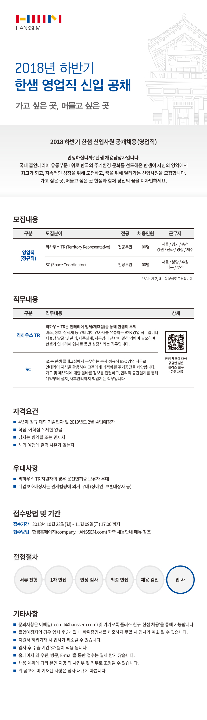 [한샘] 2018 하반기 엉업직 신입공채 모집요강_최종.jpg