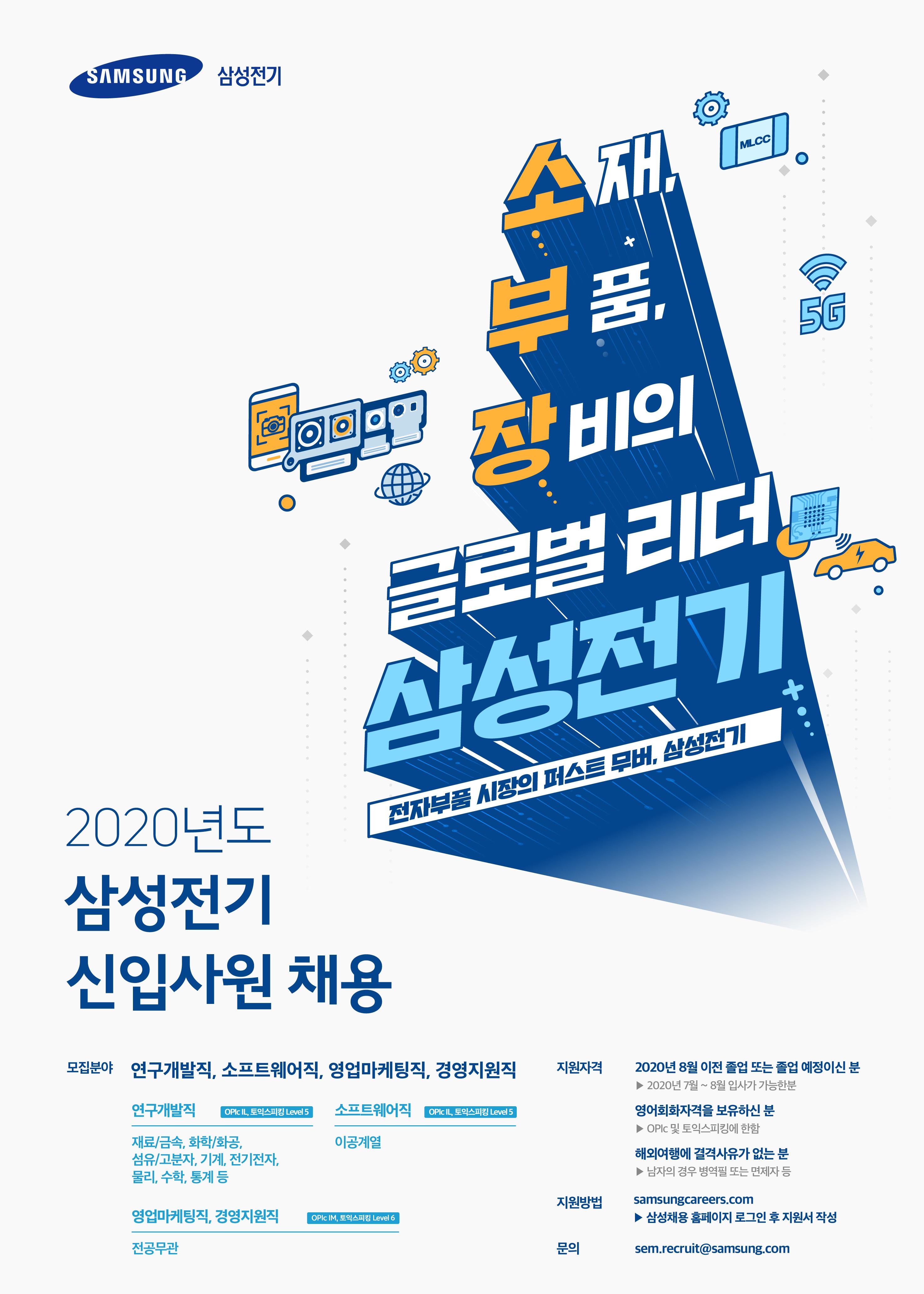 삼성전기 2020년 상반기 신입사원 채용 포스터.jpg